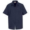 Red Kap Mens Zip-Front Smock UNF KP44NV-SS-L