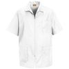Red Kap Mens Zip-Front Smock UNF KP44WH-SS-XL