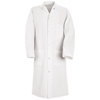 workwear butcher coats: Red Kap - Men's Gripper-Front Spun Polyester Butcher Coat