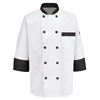 Chef Designs: Chef Designs - Men's Garnish Chef Coat