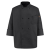 workwear chef coats: Chef Designs - Men's 8 Pearl Button Chef Coat