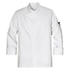 workwear chef coats: Chef Designs - Men's Tunic Chef Coat