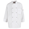 workwear chef coats: Chef Designs - Men's Vented Back Chef Coat