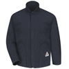 workwear jacket liners: Bulwark - Men's Modacrylic Fleece-Sleeved Jacket Liner