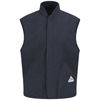 workwear jacket liners: Bulwark - Men's Modacrylic Fleece Vest Jacket Liner