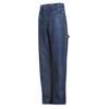 Bulwark Mens EXCEL FR® Pre-Washed Denim Dungaree - 14.75 oz. UNF PEJ8SW-36-37U