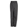 workwear pleated front pants: Chef Designs - Men's Spun Poly Baggy Chef Pant