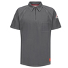 bulwark: Bulwark - Men's iQ Short Sleeve Polo Shirt