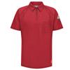 Bulwark Mens iQ Short Sleeve Polo Shirt UNF QT10RD-SS-3XL