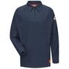 workwear shirts long sleeve: Bulwark - Men's iQ Long Sleeve Polo Shirt