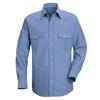 Red Kap Mens Deluxe Western Style Shirt UNF SC14LB-LN-L