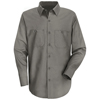 workwear mens shirts: Red Kap - Men's Wrinkle-Resistant Cotton Work Shirt