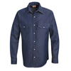 Red Kap Mens Deluxe Denim Shirt UNF SD78DN-LN-L