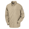 workwear shirts long sleeve: Bulwark - Men's EXCEL FR® Dress Shirt - 5.25 oz.