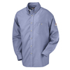 Bulwark Mens EXCEL FR® Dress Shirt - 5.25 oz. UNF SEG6LB-LN-L