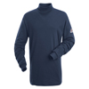 flame resistant: Bulwark - Men's EXCEL FR® Tagless Mock Turtleneck