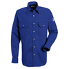 workwear: Bulwark - Men's EXCEL FR® Snap-Front Uniform Shirt - 7 oz.
