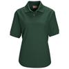 Emerald: Red Kap - Women's Cotton/Polyester Blend Pique Knit Shirt