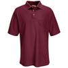 workwear Polo Shirts: Red Kap - Men's Performance Knit® 50/50 Blend Solid Shirt