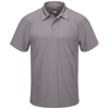 Red Kap Mens Active Performance Polo UNF SK92GY-SS-L