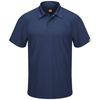 Red Kap Mens Active Performance Polo UNF SK92NV-SS-L