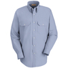Red Kap Mens Deluxe Uniform Shirt UNF SL50WB-RG-L
