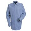 flame resistant: Bulwark - Men's EXCEL FR® ComforTouch® Concealed-Gripper Pocketless Shirt - 7 oz.