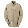 flame resistant: Bulwark - Men's Uniform EXCEL FR® ComforTouch® Dress Shirt - 7 oz.