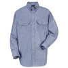 flame resistant: Bulwark - Men's EXCEL FR® ComforTouch® Uniform Shirt - 5.5 oz.