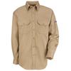 flame resistant: Bulwark - Unisex EXCEL FR® ComforTouch® Uniform Shirt - 6 oz.