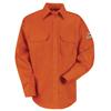 Bulwark Unisex EXCEL FR® ComforTouch® Uniform Shirt - 6 oz. UNF SLU8OR-LN-XXL
