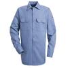Bulwark Mens EXCEL FR® ComforTouch® Work Shirt - 7 oz. UNF SLW2LB-RG-M