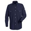 workwear: Bulwark - Men's CoolTouch® 2 Uniform Dress Shirt - 7 oz.