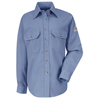 workwear womens shirts: Bulwark - Women's CoolTouch® 2 Uniform Dress Shirt - 7 oz.