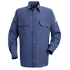 flame resistant: Bulwark - Men's Nomex® IIIA Uniform Shirt - 4.5 oz.