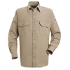 workwear: Bulwark - Men's Nomex® IIIA Uniform Shirt - 4.5 oz.