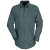 workwear shirts long sleeve: Red Kap - Men's Industrial Work Shirt