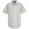 workwear shirts short sleeve: Red Kap - Men's Industrial Stripe Work Shirt