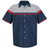 Red Kap Mens Performance Tech Short Sleeve Shirt UNF SP24AC-SS-S