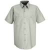 workwear shirts short sleeve: Red Kap - Men's Industrial Work Shirt