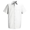 workwear small: Red Kap - Men's Specialized Pocketless Work Shirt