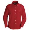 workwear womens shirts: Red Kap - Women's Poplin Dress Shirt