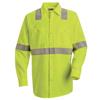 workwear: Red Kap - Men's Hi-Vis Work Shirt - Class 2 Level 2