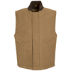 Red Kap Mens Blended Duck Insulated Vest UNF VD22BD-RG-L