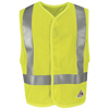 workwear coverall: Bulwark - Men's Hi-Vis Flame-Resistant Mesh Safety Vest