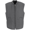 Red Kap Mens Quilted Vest UNF VT22CH-LN-L