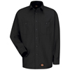 Wrangler Workwear Mens Work Shirt UNF WS10BK-RG-S