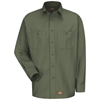 Wrangler Workwear Mens Work Shirt UNF WS10OG-LN-L