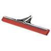 Squeegees: Water Wand Heavy-Duty Red Neoprene Squeegee