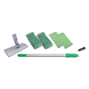 cleaning chemicals, brushes, hand wipers, sponges, squeegees: Unger® SpeedClean™ Window Cleaning Kit